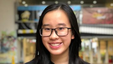 Justine Chan (President of Student Council)