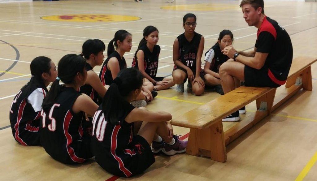 U14 girls basketball photo