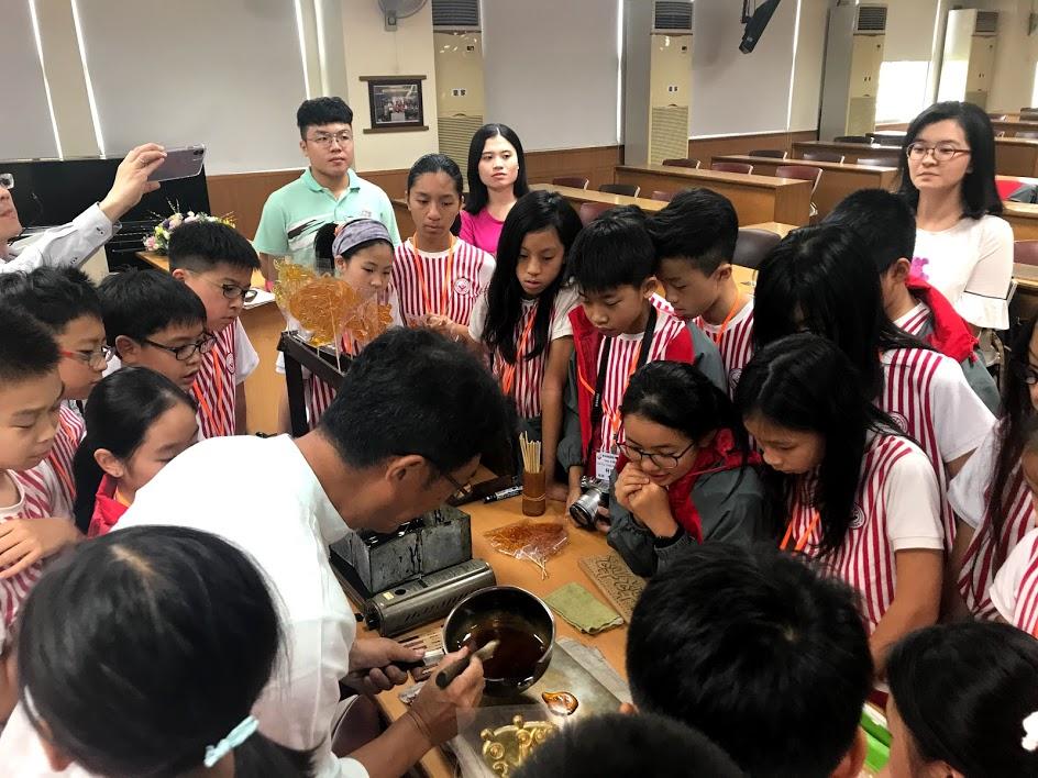 四维国小老师教我们画糖